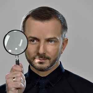 Tomasz Rozek prowadzacy program Sonda wznowienie